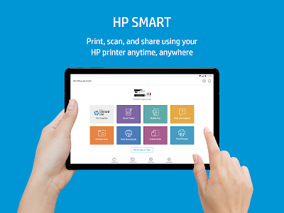 screenshot of HP Smart version 7.1.157