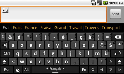 screenshot of Hacker's Keyboard version v1.40.7