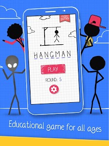 screenshot of Hangman version 2.5.5