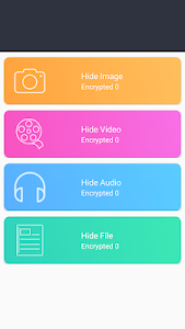 screenshot of Hide-Vault SMS, Pics, Music, File & Video App lock version 1.2