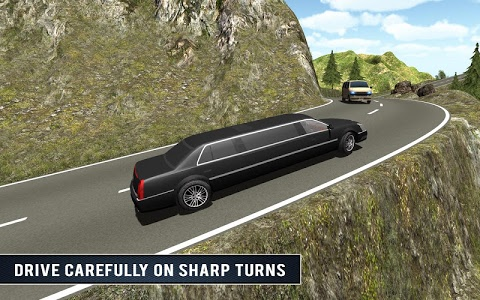 screenshot of Up Hill Limo Off Road Car Rush version 1.0.1