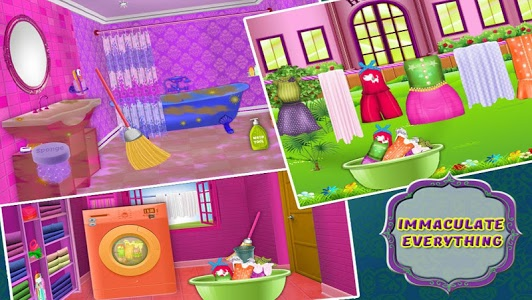 screenshot of Hotel Room Cleaning Games version 2.17