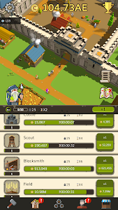 screenshot of Medieval: Idle Tycoon - Idle Clicker Tycoon Game version 1.2.2