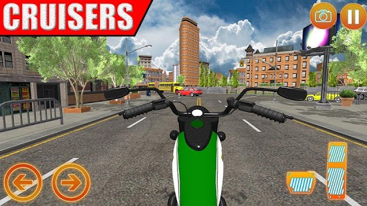 screenshot of Incredible Motorcycle Racing Obsession version 1.0