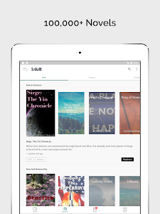 screenshot of Inkitt – Free Fiction Books, Novels & Stories version 2.10.74