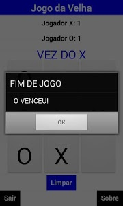 screenshot of Jogo da Velha: Multiplayer Offline version 1.0