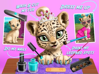 screenshot of Jungle Animal Hair Salon version 3.0.7