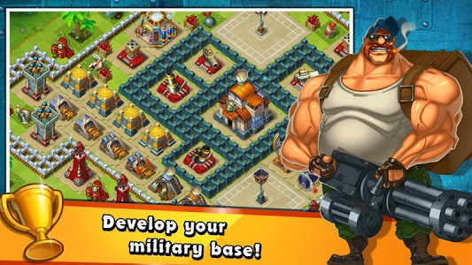 screenshot of Jungle Heat: War of Clans version 1.11.5