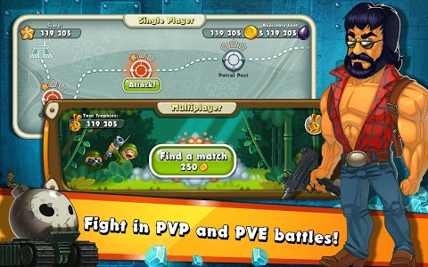 screenshot of Jungle Heat: War of Clans version 2.1.3