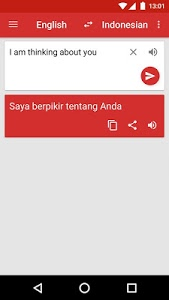 screenshot of Kamus Inggris (Kamusku) version 6.7.4
