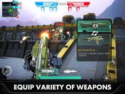 screenshot of Last Battleground: Mech version 3.3.0