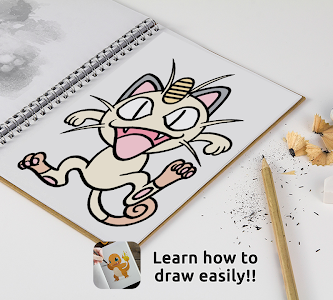 screenshot of Learn to draw Pokemons version Varies with device