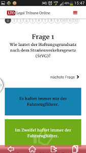 screenshot of LTO.de - Legal Tribune Online version 2.0.7