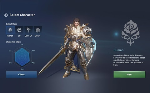 screenshot of Lineage 2: Revolution version 1.15.12
