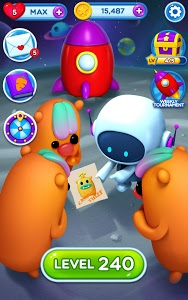 screenshot of Little Odd Galaxy - Match 3 Puzzle Game version 1.1.23