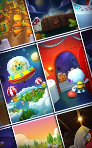 screenshot of Little Odd Galaxy - Match 3 Puzzle Game version 1.1.29
