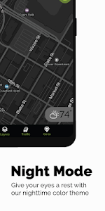 screenshot of MapQuest: Directions, Maps & GPS Navigation version Varies with device