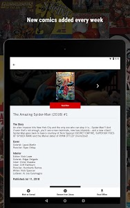 screenshot of Marvel Unlimited version Varies with device