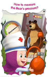 screenshot of Masha and the Bear: Free Animal Games for Kids version 3.5.10