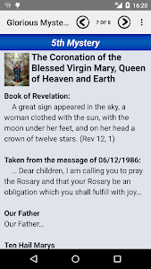 screenshot of Medjugorje version 2.3.5