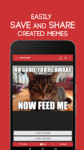 screenshot of Meme Generator Free version 4.024