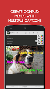 screenshot of Meme Generator Free version 3.207
