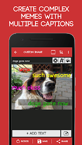 screenshot of Meme Generator Free version 4.037