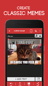 screenshot of Meme Generator Free version 4.107
