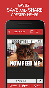 screenshot of Meme Generator Free version 4.038