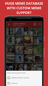 screenshot of Meme Generator Free version 4.432