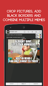 screenshot of Meme Generator Free version 2.101