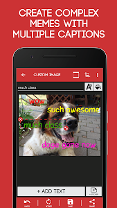 screenshot of Meme Generator Free version 4.044