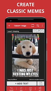 screenshot of Meme Generator Free version 4.557