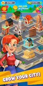 screenshot of Merge City version Varies with device