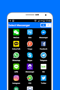 screenshot of Messenger version 1.0