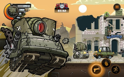 screenshot of Metal Soldiers 2 version 1.10