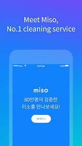 screenshot of Miso - Book a home cleaning version 3.4.2