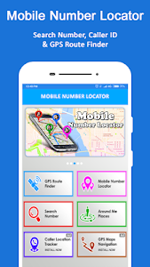 screenshot of Mobile Number Location version 4.7