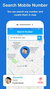 screenshot of Mobile Number Location - Phone Call Locator version 8.1