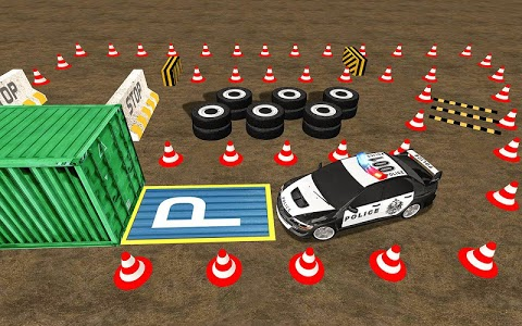 screenshot of Modern Police Car Parking- Car Driving Games version 1.0.11
