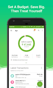 screenshot of Money View Money Manager and Instant Personal Loan version Earth-2.7.6