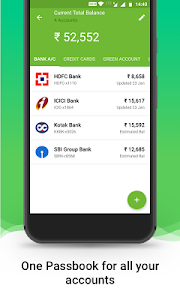 screenshot of Money View Money Manager version Earth-1.4.2
