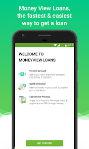 screenshot of Instant Personal Loan App - Money View Loans version KOI-7711.136