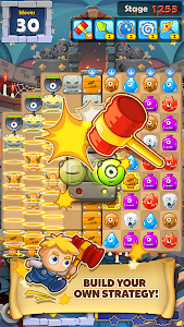 screenshot of MonsterBusters: Match 3 Puzzle version 1.3.54