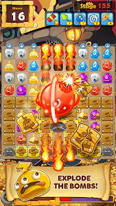 screenshot of MonsterBusters: Match 3 Puzzle version 1.3.65