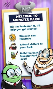 screenshot of Monsterama Park version 1.9.7