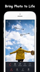 screenshot of Movepic - Photo motion & Photo Animator version 1.4.1