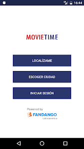 screenshot of Movie Time Multicines version 3.49.0