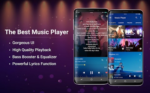 screenshot of Music Player for Android version 2.9.3