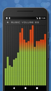 screenshot of Music Volume EQ - Equalizer & Booster version 4.4